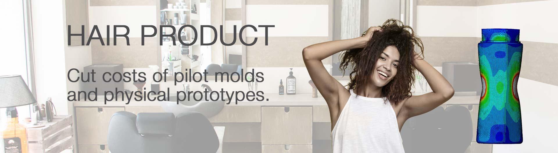 hair product packaging