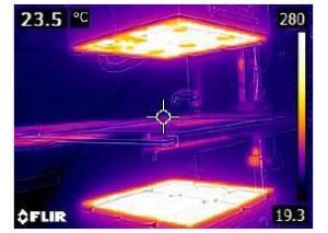 infrared heating digital simulation packaging