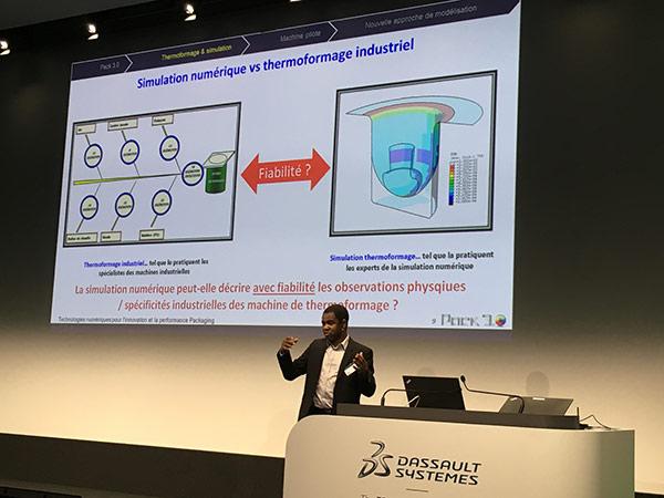 Une nouvelle approche dans la modélisation du processus de thermoformage des emballages plastiques